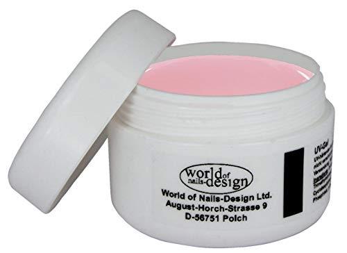 World of Nails-Design BasicLine 30ml 1Phasen-Gel Milky Rosé dick, rosa milchig Babyboomer Look