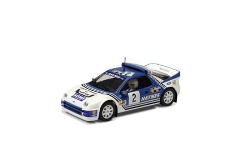 Scalextric - SCA3407 - Voiture de Circuit - Ford RS200 Haynes N°2 - Echelle 1:32