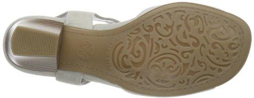ara Orleans-S 12-35483, Sandali classici Donna Grigio (Grau (kiesel,silber)