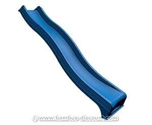 kletterturm wellenrutsche aus kunststoff in blau l nge 295cm kinderspielger te f r garten. Black Bedroom Furniture Sets. Home Design Ideas