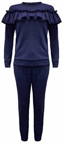 Trendy.clothing -  Tuta da ginnastica  - Donna Navy blue