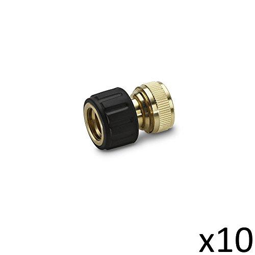 Karcher Kit de 10 Raccords Laiton 13-15mm - 2.645-015.0