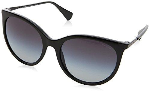 Ralph Lauren Ralph by Damen 0RA5232 13778G 56 Sonnenbrille, Black/Dk.Greygradient,