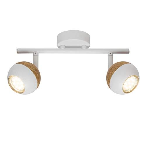 LED Spot Tubo, de 2focos, 2x 3W Reflector LED (Incluye lámpara, 2x...