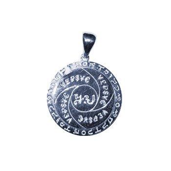 ►  Amuleto de plata talismán seguro Shield es único en la naturale