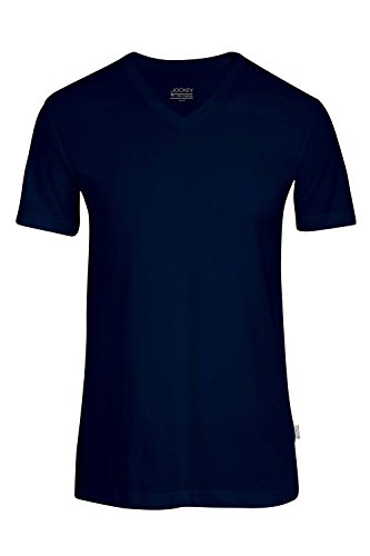 Jockey V-Shirt, kurzarm Navy