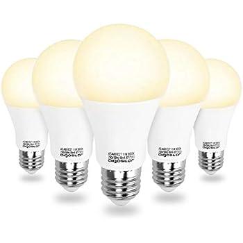 Aigostar - Bombilla LED A5 A60, E27, 11 W equivalente a 95 W,
