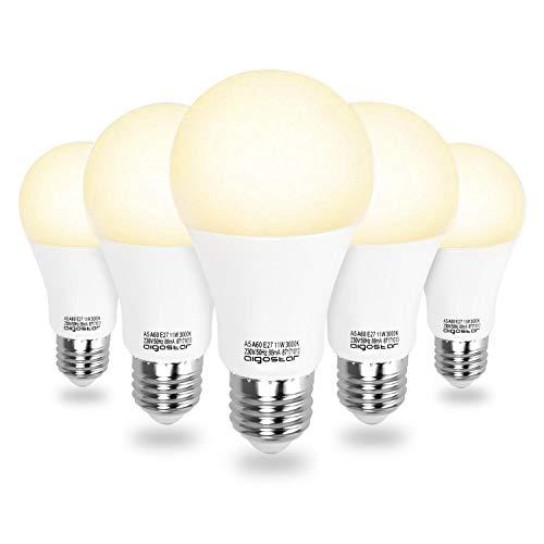Aigostar - Bombilla LED A5 A60, E27, 11 W...