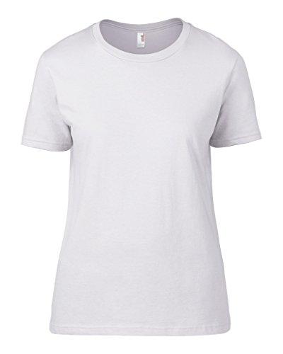 Leicht tailliertes Fashion Fit T-Shirt Heather Dark Grey