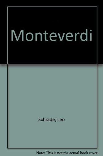 Monteverdi par Leo Schrade