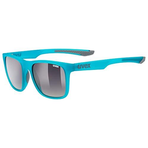 Uvex Erwachsene lgl 42 Sonnenbrille, Blau/Grey, One Size