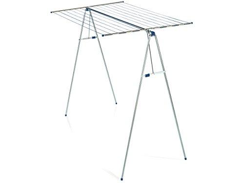 Terrasse Hose (Leifheit Hochtrockner Linomaxx 210, mit 21 m Wäscheleine, leicht auf- und zusammenklappbarer Wäscheständer, Standtrockner mit automatischer Arretierung)