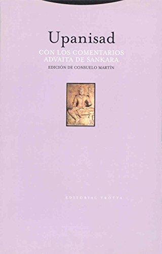 Upanisad. Con Los Comentarios Advaita De Sankara (Estructuras Y Procesos)