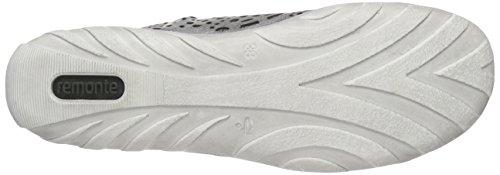 Remonte R3463, Sneakers Hautes Femme Gris (Grey/Antique/40)
