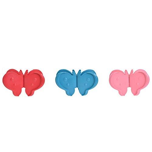 1 stück Schmetterling Silikon Flache Hot Dish Schüssel Halter Topfträger Anti-Burn Clamp Magnetischen Kühlschrank Clip Praktische Küche Werkzeug