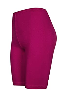 DeDavide 2 Stück Damen Shorts aus Baumwolle, 16