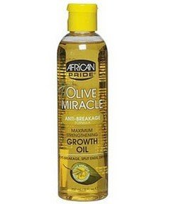 African Pride Olive Miracle anti-casse Formula Maxi Strength. Growth Oil 237 ml