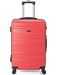 65a2f89be BENZI - Rosa / Maletas y bolsas de viaje: Equipaje - Amazon.es