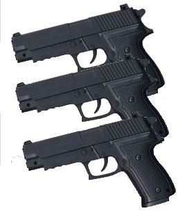 Elite Airsoft Pistole 50163 Set 3 Stück