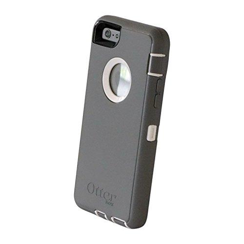 CUSTOM Grey OtterBox Defender Series Case for Apple iPhone 6 PLUS (5.5 Model) - Pink & White Zebra Skin Stripes