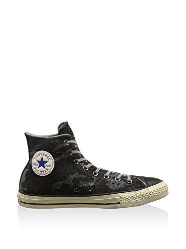 Converse All Star Hi Felt Print Herren Hightop Sneaker Grau