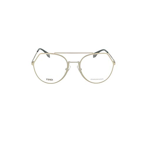 Fendi ff 0329 montature vista donna 3yg/20 light gold