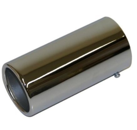 XtremeAuto® Car Exhaust Chrome Tail Trim Pipe Tip (45mm-56mm)