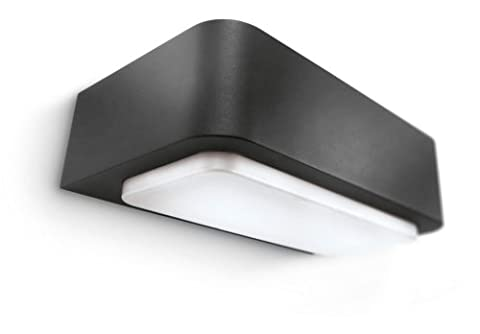 Philips Ecomoods 230 V Wall Light, 13 W - Anthracite