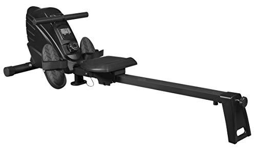 InShape Sport Rudergerät   für den Gebrauch Zuhause   zusammenklappbar, leise, 7KG Schwungmasse  für Ausdauer- und Krafttraining geeignet