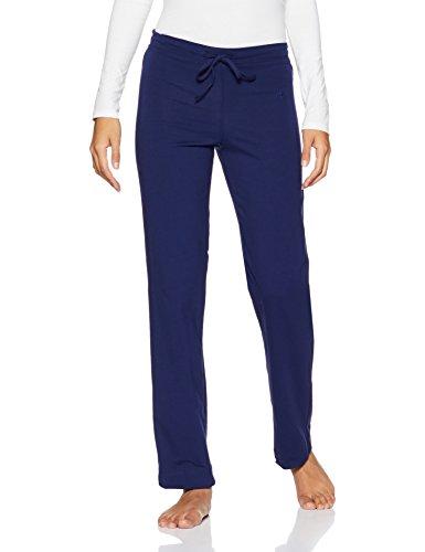 Jockey Women's Cotton Lounge Pants (1301-0105-IMPBL_Imperial Blue_XXL)