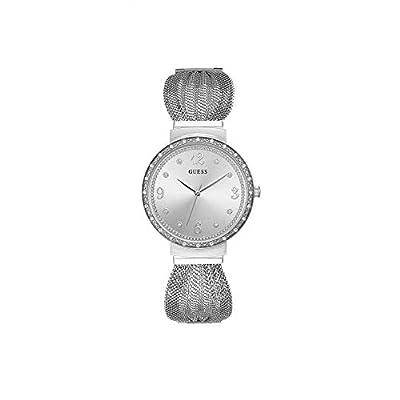 Guess Reloj Analógico para Mujer de Cuarzo con Correa en Acero Inoxidable W1083L1