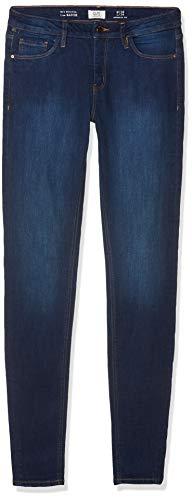 Q/S designed by Damen Sadie Superskinny: Stretchjeans Dark Blue Denim Heavy Stone Washed 36.30