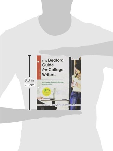 Loose-Leaf Version for the Bedford Guide for College Writers with Reader, Research Manual, and Handbook,