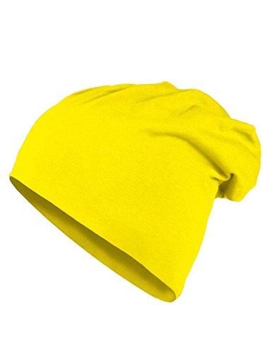 MasterDis KMA Jersey Beanie (Uni, gold) (Großhandel Stirnbänder Und Accessoires)