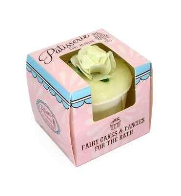 Rose And Co Patisserie De Bain Fairy Cake Moisturising Bath Melt GREEN TEA 45g