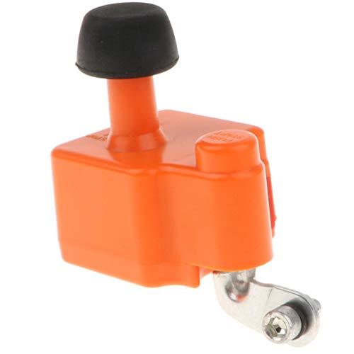 D DOLITY Fahrrad Generator Dynamo Dual USB Ports Ladegerät für Smartphone - Orange