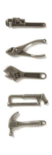 Karen Foster Karen Foster Mini Charms Werkzeuge, Acryl, mehrfarbig -