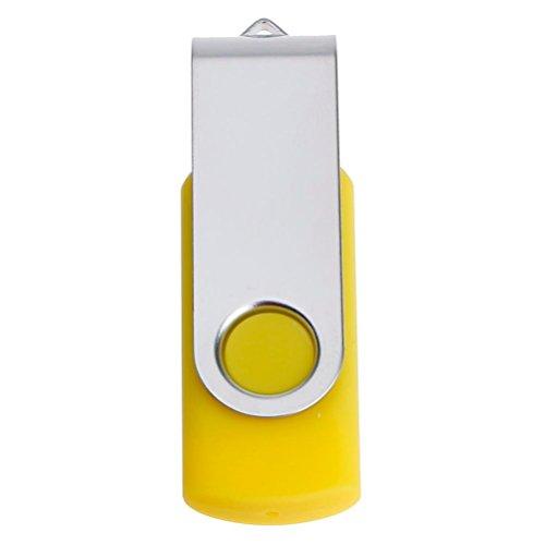 4 Gb U3-usb (USB Sticks, IMJONO 1GB 2GB 4GB 8GB 16GB 32GB 64GB USB 2.0 Flash Laufwerk Speicher Stick Thumb U Scheibe(2GB,B-Gelb))