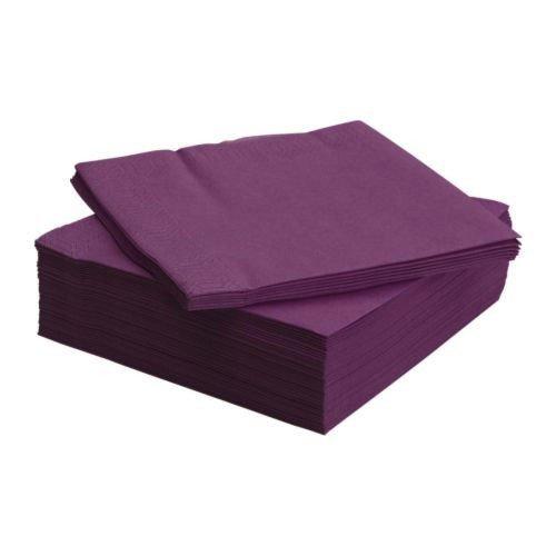 ikea-ensemble-de-50-serviettes-en-papier-serviettes-fantastisk-40x40cm-3-plis-violet-pourpre