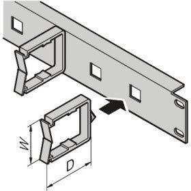 Pentair Schroff PROLINE - Rack-Kabelmanagementsystem - 1750 Laser