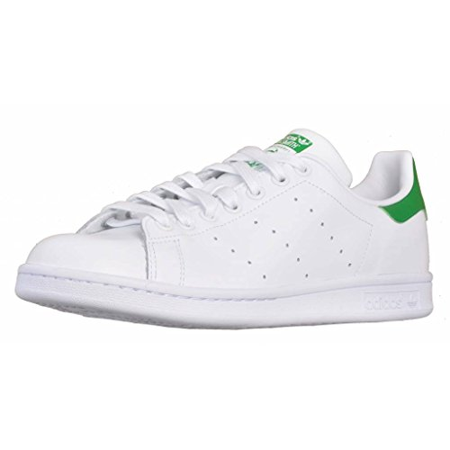 watch 5f794 22155 Sneakers Adidas Stan Smith M20324M Scarpe in Pelle Bianca Verde 42
