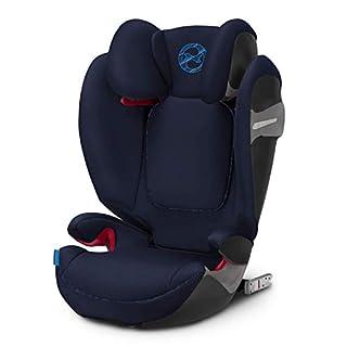 Cybex Gold - Silla de coche para niños Solution S-Fix, para coches con y sin Isofix, grupo 2/3 (15-36 kg), desde los 3 hasta los 12 años aprox., Indigo Blue (B07GL2SR5K) | Amazon Products