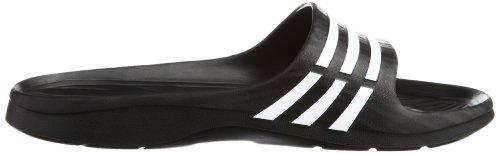 adidas Duramo Sleek W Damen Dusch & Badeschuhe Schwarz (Black 1/White/Black 1)