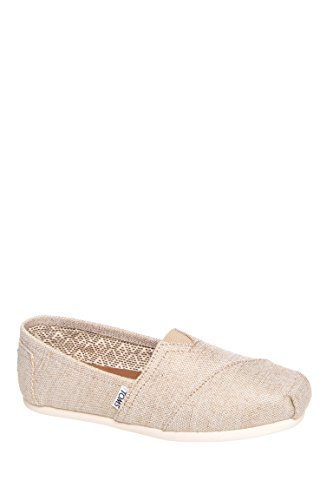 toms-seasonal-classic-slip-on-natural-metallic-burlap-6-uk