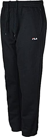 Mens Fila Joggin Bottoms Fleece Trousers Elasticated