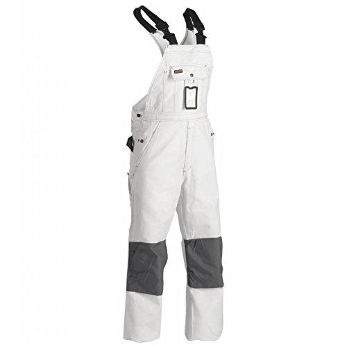 Blåkläder Workwear Arbeits-Latzhose Maler '2611', 1 Stück, C56, weiß, 67-26111210-1000-C56