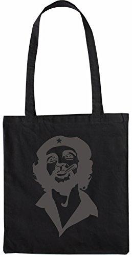 Mister Merchandise Tote Bag Che Ernesto Guevara Borsa Bagaglio , Colore: Nero Nero