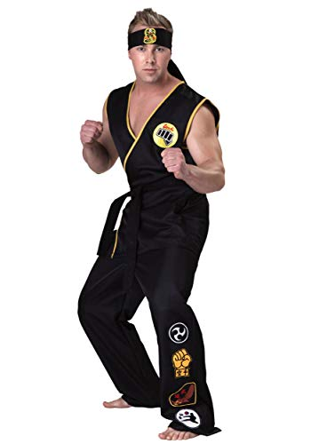 Kinder Kostüm Cobra Kai - Karate Kid Cobra Kai Fancy dress costume Large