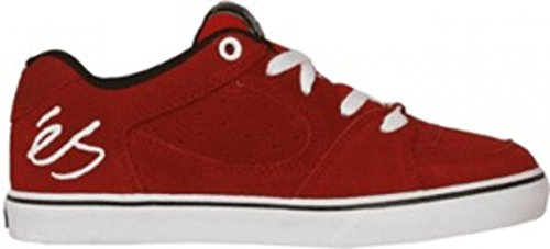 Es Skateboard-schuhe (ES Skateboard Schuhe Square One Youth Red/White/Black, Schuhgrösse:30)