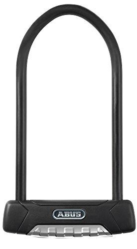 ABUS Fahrradschloss 470/300 Granit Plus USH Halter, Schwarz, 11251